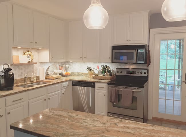 Kitchen which is perfect for cooking