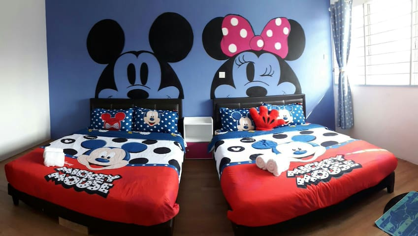 Georgetown Mickey Family Suite-4pax