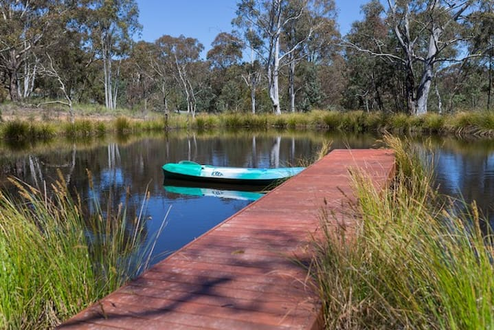Idyllic, Luxurious, Eco-Retreat 22mins to Canberra
