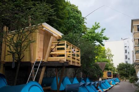 Cabane 4 personnes * 4 People Cabin * Paris - Paris - Blockhütte