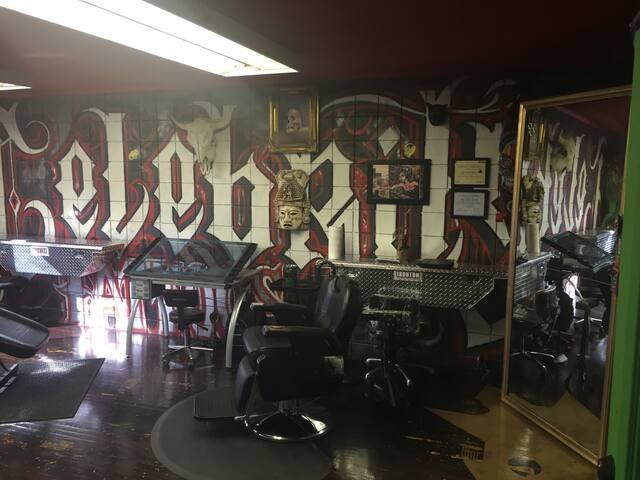 Tattoo barbershop hair style video - Los Ángeles - Loft