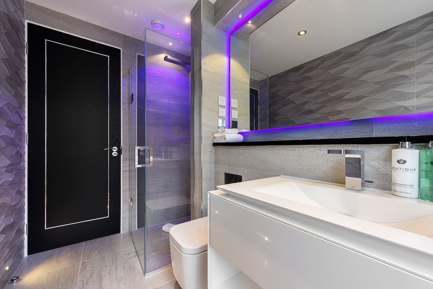 I have tried to make this Bathroom look great and function well. Underfloor heating, walk in shower, heated towel rail.