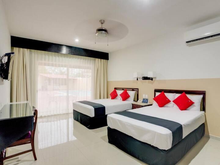 Habitación de hotel - Aparthotel Siglo 21