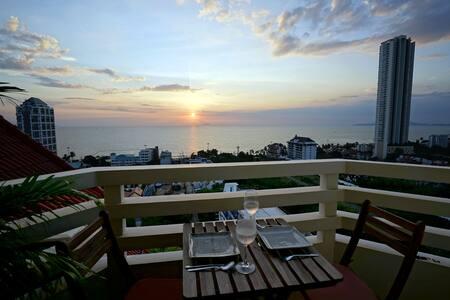 Ocean View Corner Condo - Muang Pattaya - Byt