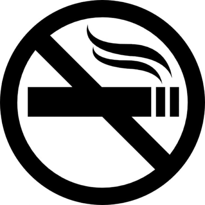 smoking banned