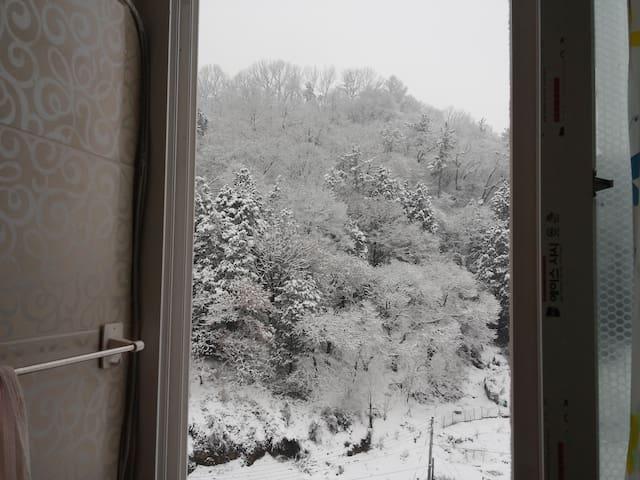 힐링하우스 Private apt. 가족실, 한옥마을 걸어서 단 7분거리 - Wansan-gu, Jeonju - Apartment