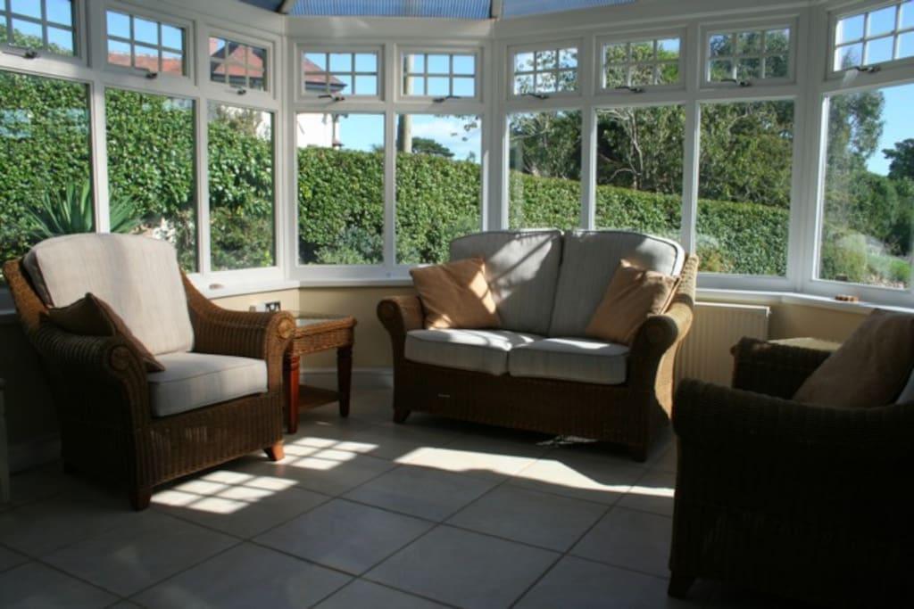 Lovely light conservatory