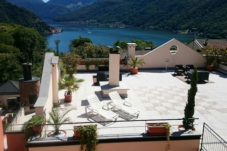 Beautiful apartment on Lugano lake B 2.4 (80 Sq.m)