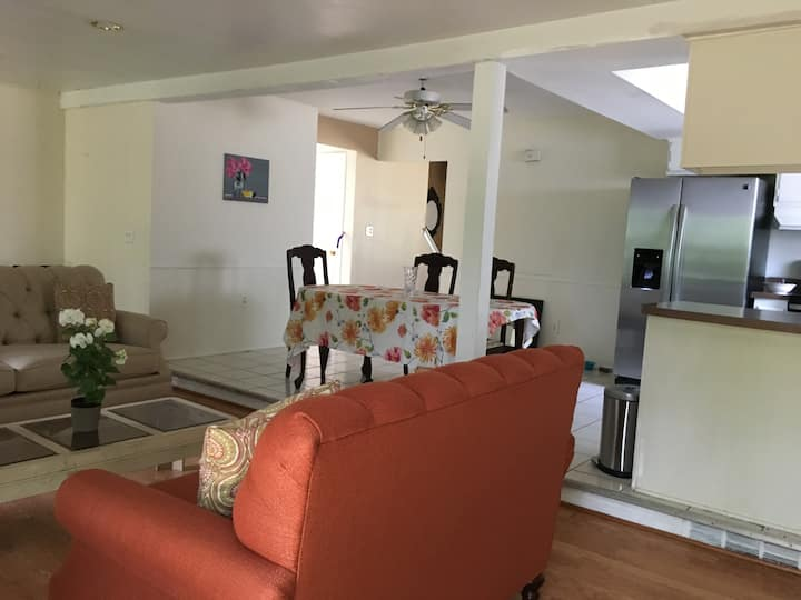 1 bedroom available with access to entire home