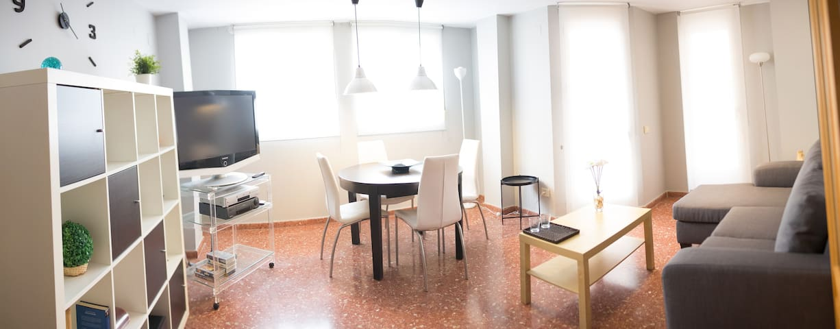 Beautiful and modern apartment. Gastronomic route - València - Lägenhet