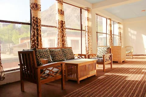 Spacious rooms with soothing ambience