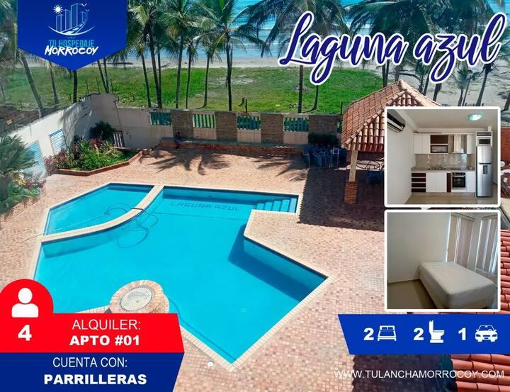 Alquiler Tucacas Morrocoy Laguna Azul #01