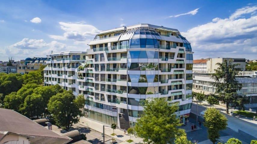 The City Center View - Building Facade