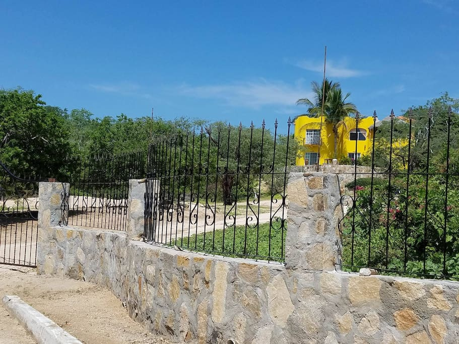 Private Gated Retreat on almost 1 acre!
