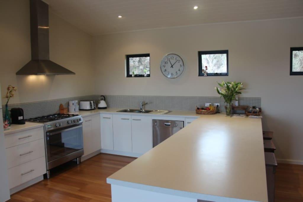 Modern Kitchen upstairs