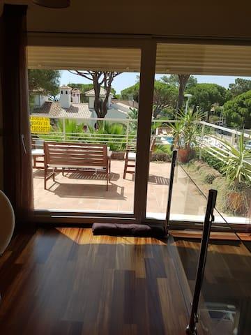 Star y terraza privada en suite privada