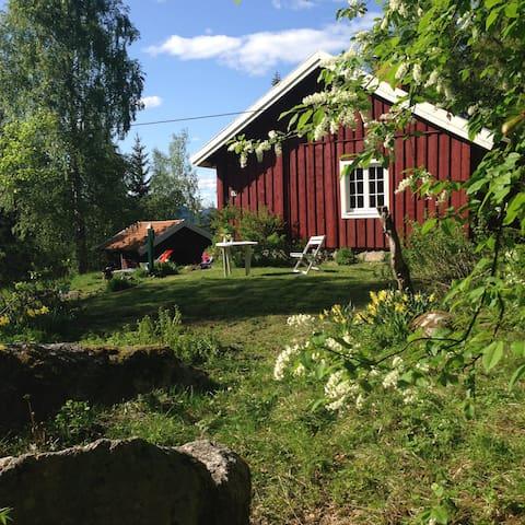 Haugerud Husmannsplass / Croft - Cultural heritage - Hallingby - Přírodní / eko chata