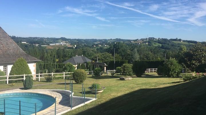 Magnifique villa avec piscine pour 6/8 personnes