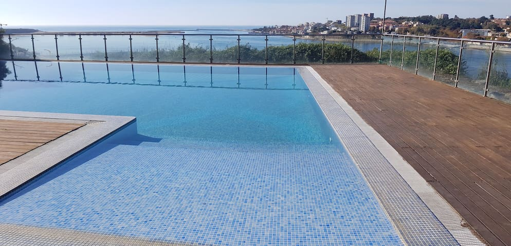 Luxury Oporto Houses - Pool and River views.