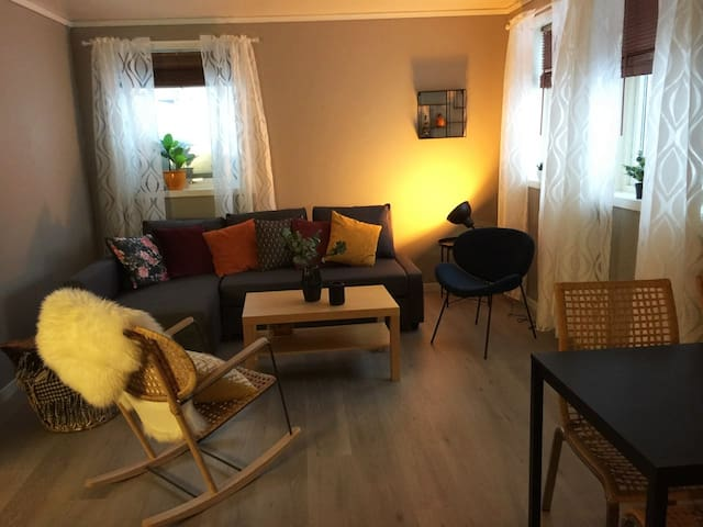 54 m2 apartment with sleeping accommodation for 5