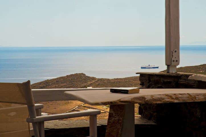 "room SYROS-""SeaView-Exclusive-Tinos - Tinos - Bed & Breakfast"