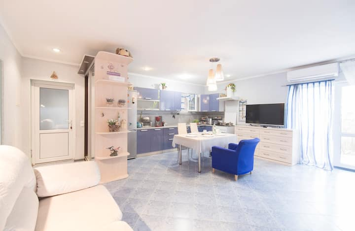 Дом в Олимпийском парке на 8 человек 4 комнаты.