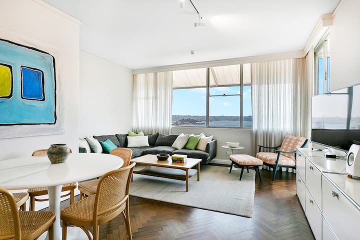 'The View' Elizabeth Bay - 2bdr + Parking