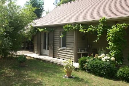 Grande chambre 2 lits simples, proche de la nature - Bourron-Marlotte