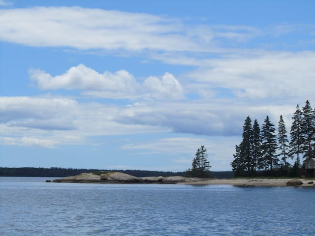 Beautiful house with private beach - Deer Isle - House
