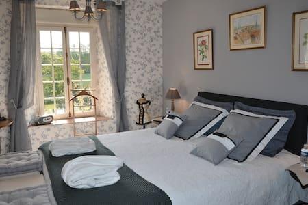 Le Moulin de Gouaix - Chambre du Meunier - Jutigny