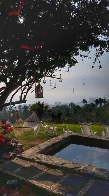 vista desde la villa a Puerto Vallarta