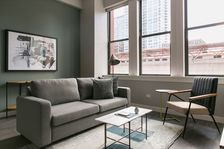 Sonder | Library Lofts | Cozy 1BR + Fitness Center