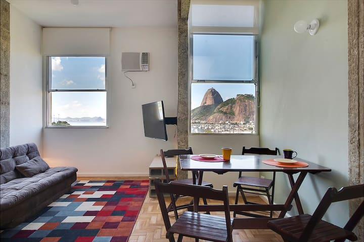 Vista deslumbrante para o Pão de Açúcar! - Rio de Janeiro - Apartment