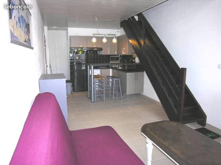Appartement T2 Duplex front de mer. Lacanau océan