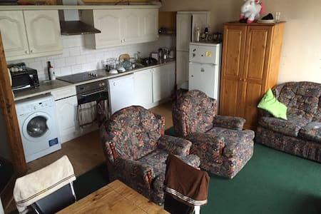 Dublin, South City Centre, Double bed - Ranelagh - Apartament
