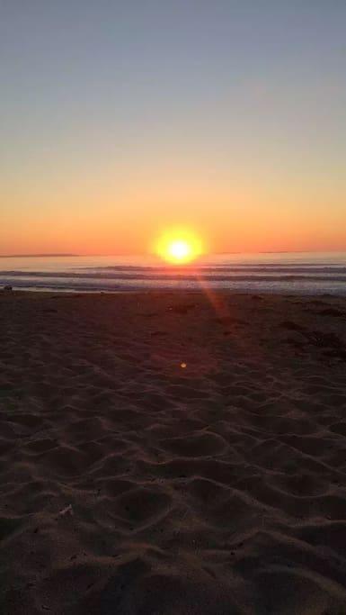 Sunrise on Kinney Shores