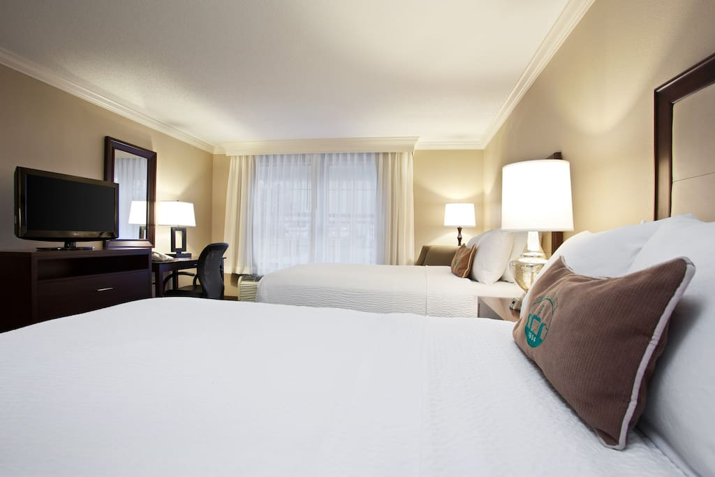 Newly Renovated Guestrooms with Free WiFi