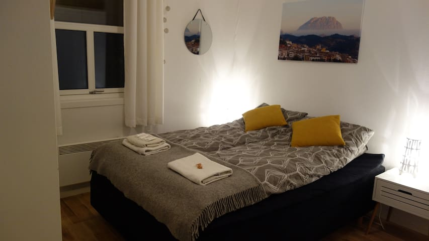 Nice room in apartment close to the city senter. - Alta - Apartment
