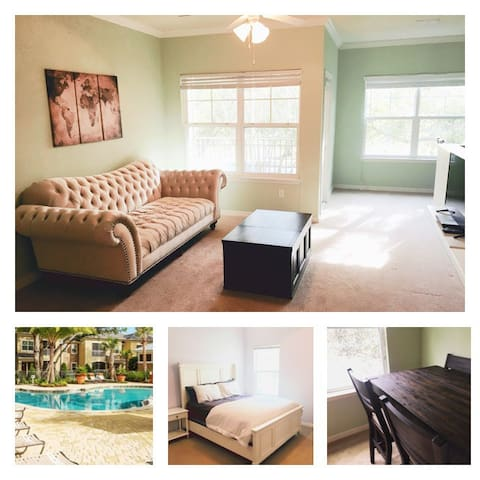 High End Luxury Townhouse($49)-20 Min to DTOrlando