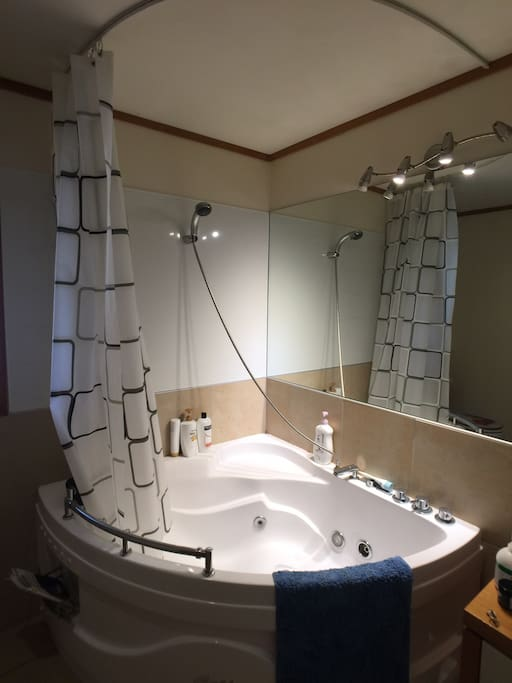 一楼公用卫浴 Shared bathroom and SPA