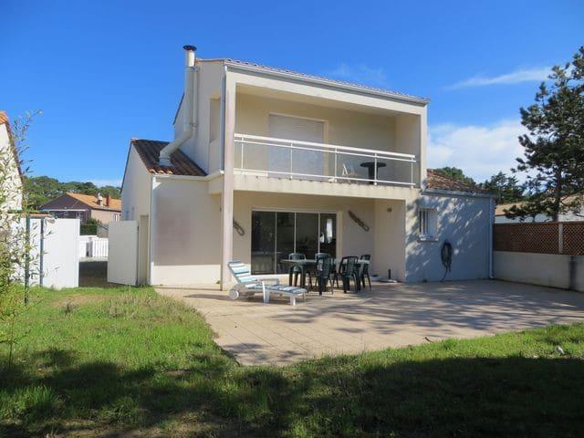 Maison en bordure de dune, quartier calme réf 804 - La Tranche-sur-Mer - Casa