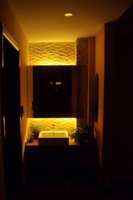 独立使用的浴室卫生间