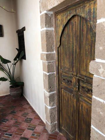 Bedroom #1 door (Master) - 1st floor