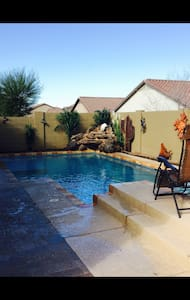 Private piece of paradise with pool and hot tub - Florencie