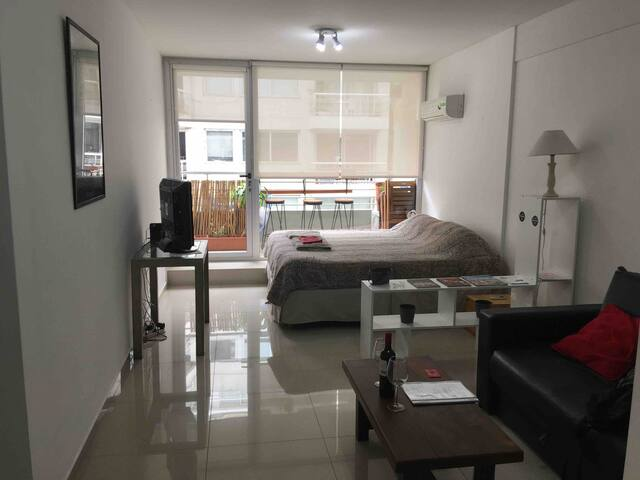 New flat w/ balcony and pool at terrace - Palermo