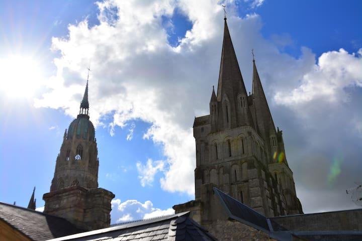 Au pied de la cathédrale 3 pièces - Bayeux - Apartmen