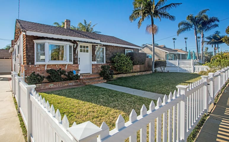 Junie's Cottage by the Sea is a beautiful 3 bedroom, 1 bath, family home!