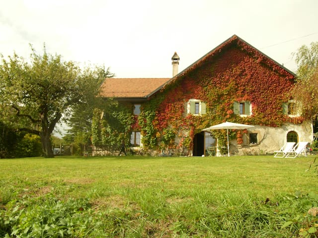 Beautiful 17th century house with large garden