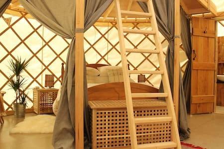 Beautiful Yurts on The Garlic Farm - Newchurch - 유르트(Yurt)