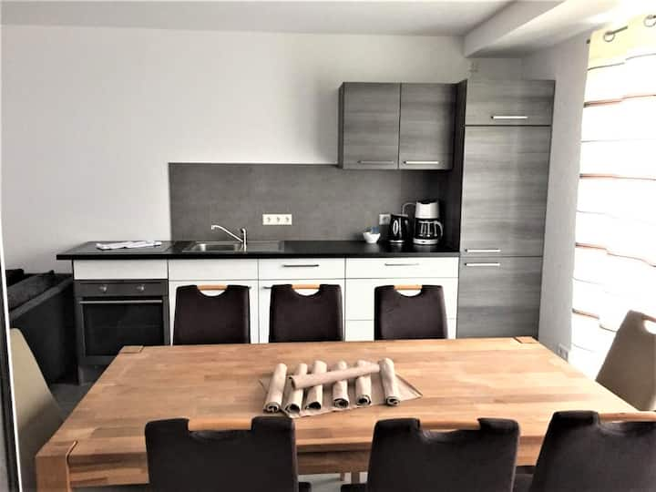 Hilda Apartments, (Rust), Deluxe Apartment, 86qm, Terrasse, 3 Schlafzimmer, max. 8 Personen